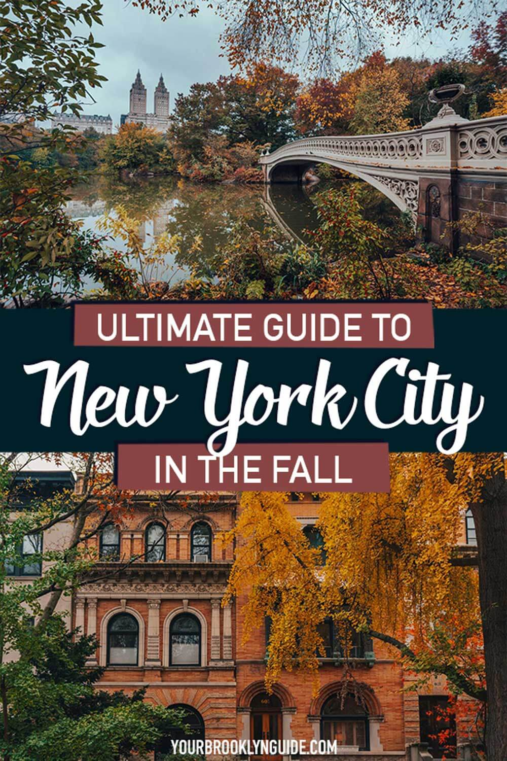 things to do in nyc in the fall